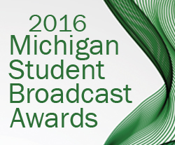 2016 Student Broadcast Awards