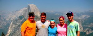 Yosemite - Dewan - Glacier Point
