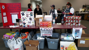 "WION Remote Broadcast Wrap-up of ""Treasures for Troops"""