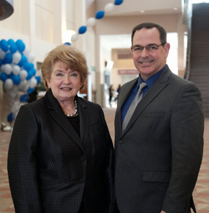 MAB President/CEO Karole White and David Oliver